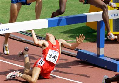 Hurdle fail